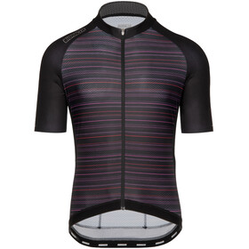 Bioracer Sprinter SS Jersey Cold Black Light Subli Men, kingpin red